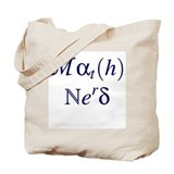 Math Nerd Tote Bag
