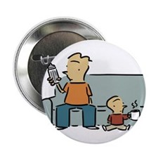 "Stay-At-Home Dad 2.25"" Button (10 pack)"