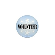 Volunteer Mini Button (10 pack)