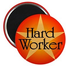 Hard Worker Magnet