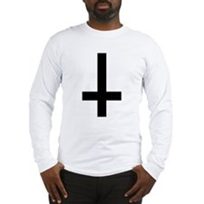 Inverted Cross Long Sleeve T-Shirt
