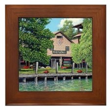 Hack-Ma-Tack, Mullett Lake Framed Tile