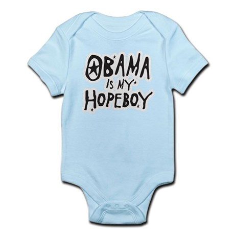 Obama is my Hopeboy Infant Bodysuit