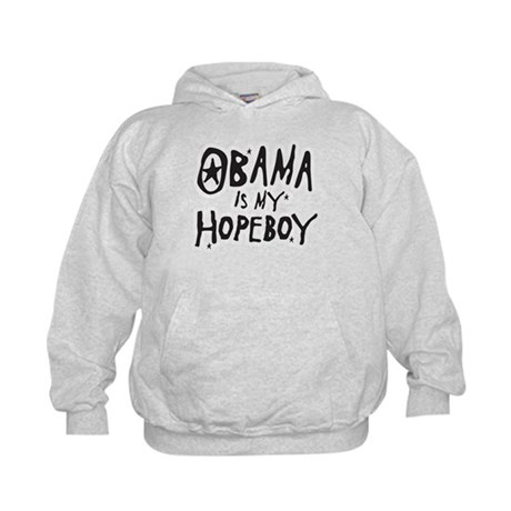 Obama is my Hopeboy Kids Hoodie