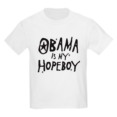 Obama is my Hopeboy Kids Light T-Shirt