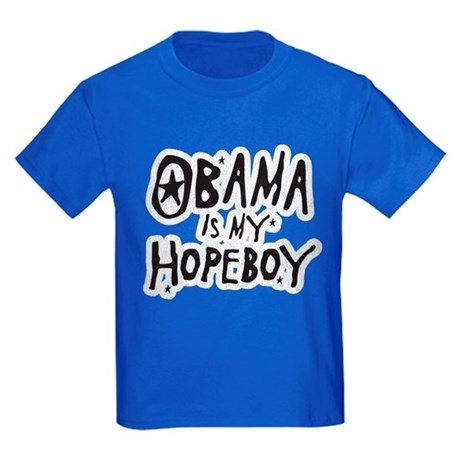 Obama is my Hopeboy Kids Dark T-Shirt