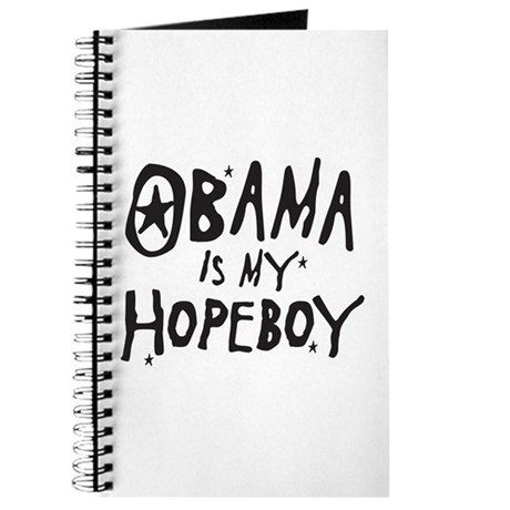 Obama is my Hopeboy Journal