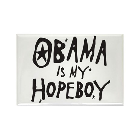 Obama is my Hopeboy Rectangle Magnet