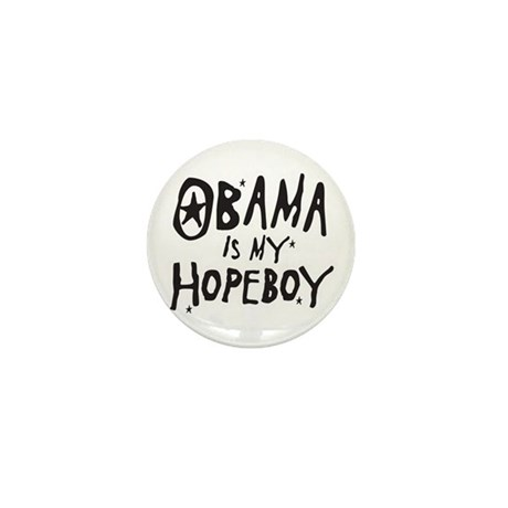 Obama is my Hopeboy Mini Button (100 pack)