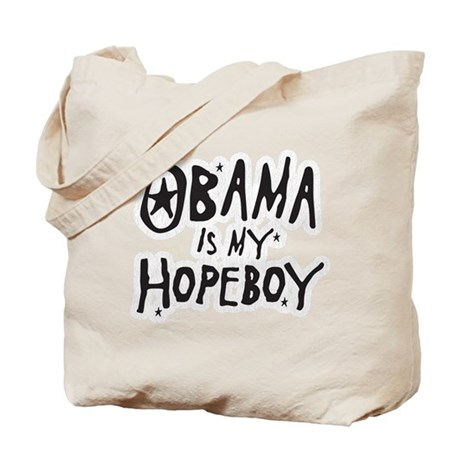 Obama is my Hopeboy Tote Bag