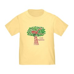 i love squirrels Toddler T-Shirt