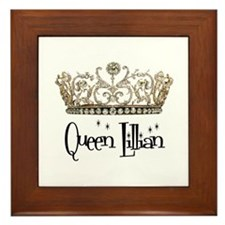 Queen Lillian Framed Tile