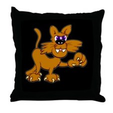 WILDCAT! Throw Pillow