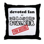 Stalker1 Throw Pillow