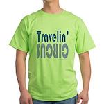 TRAVLIN' CIRCUS Green T-Shirt