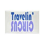 TRAVLIN' CIRCUS Rectangle Magnet (100 pack)