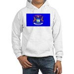 Michigan Blank Flag Hooded Sweatshirt