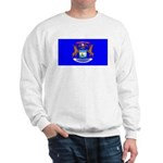 Michigan Blank Flag Sweatshirt