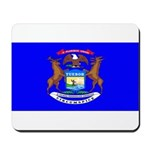 Michigan Blank Flag Mousepad