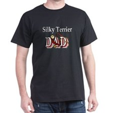 Silky Terrier Dad T-Shirt