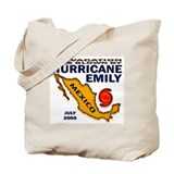 Hurricane Emily Vacation Blown Tote Bag