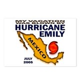 Hurricane Emily Vacation Blown Postcards (Package