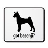 Got Basenji? Mousepad