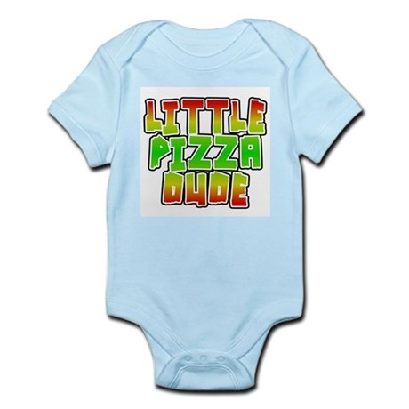 Little Pizza Dude Infant Bodysuit