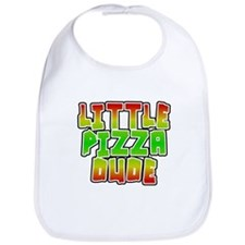 Little Pizza Dude Bib