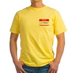 I. P. FREELY Yellow T-Shirt