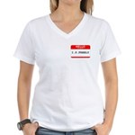 I. P. FREELY Women's V-Neck T-Shirt