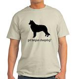 Belgian shepherd Mens Light T-shirts