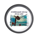 Hurricane Emily Photo Wall Clock