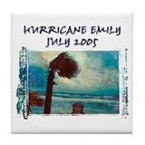 Hurricane Emily Photo Tile Coaster
