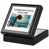 Hurricane Emily Photo Keepsake Box