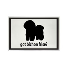 Got Bichon Frise? Rectangle Magnet