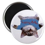 Yoga Kitty Cat Magnet