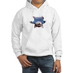 Yoga Kitty Cat Hooded Sweatshirt