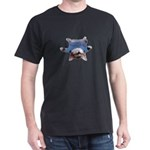 Yoga Kitty Cat Dark T-Shirt