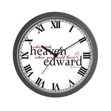 Who Needs Heaven Wall Clock