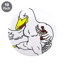 Drunk Duck Button (10 pack)