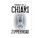 Property of A Chiari Zipperhead Postcards (Package