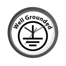 Well Grounded Wall Clock