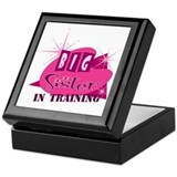 Cute Big sister in training Keepsake Box