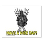 HAVE A NICE DAY Small Poster