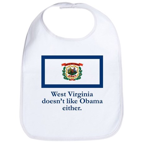 West Virginia Against Obama Bib