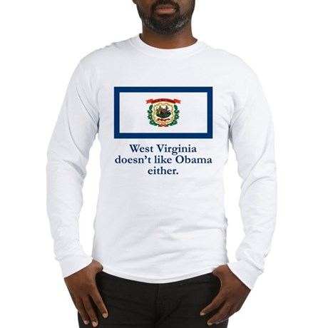 West Virginia Against Obama Long Sleeve T-Shirt