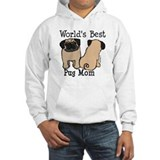 World's Best Pug Mom Jumper Hoodie