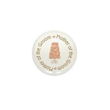 Mother of the Groom Cake Mini Button (10 pack)