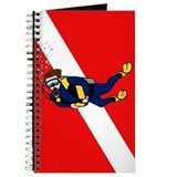 Scuba Diver & Dive Flag Journal